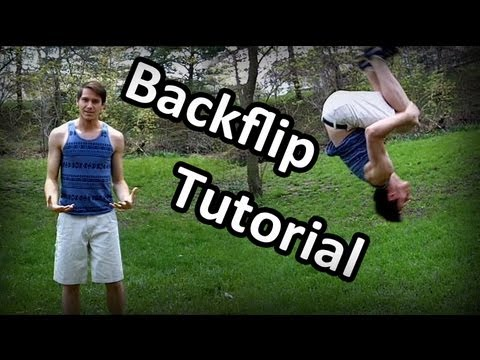 How to do a Backflip/Back Tuck: Detailed Tutorial