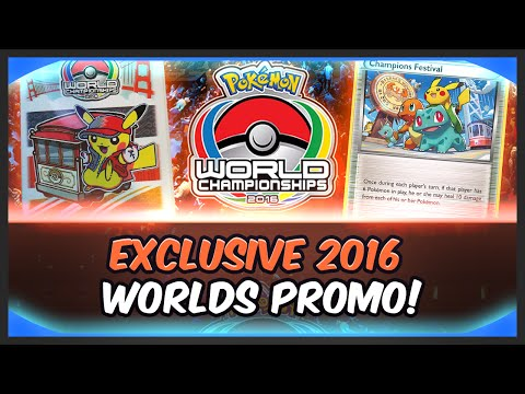 PTCGO: 2016 Pokemon World Championships Promo Code Opening!