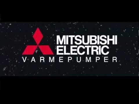 Mitsubishi Electric Varmepumpe -  toppmodell Kirigamine
