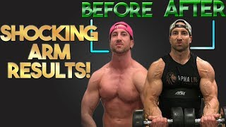 FINAL Results Of Training Arms Everyday 30 Days | CRAZY BICEP TRANSFORMATION!