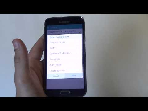 Samsung Galaxy S5: How To Delete Internet Browsing History - Fliptroniks.com