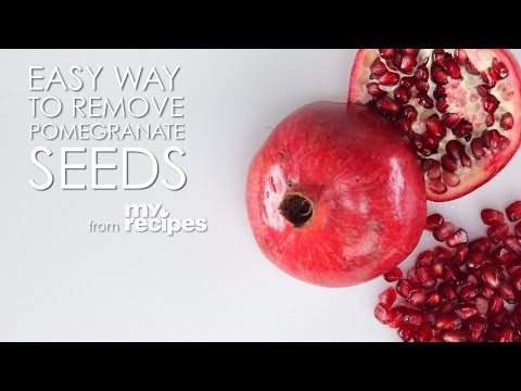 The Easiest Way to Remove Pomegranate Seeds | MyRecipes