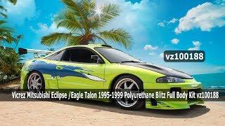 Vicrez Mitsubishi Eclipse /Eagle Talon 1995-1999 Polyurethane Full Body Kit vz100188
