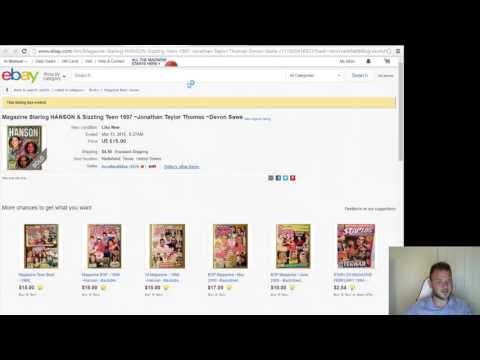 How to use top rated ebay sellers sold listings to build your own buy list