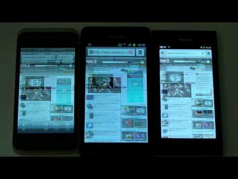Comparatif vitesse web : iPhone 4S, Galaxy S 2, Nokia N9 - par Test-Mobile.fr