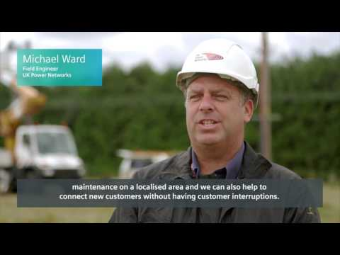 Siemens Portable Switch reference video in cooperation with UK Power Networks