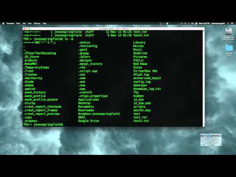 Show & Hide Hidden Files On A Mac (Yosemite) Using An Alias