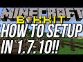 How To Start A Bukkit Server In Minecraft 1.7.10