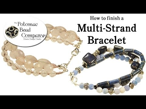 How to Finish a Multi Strand Bracelet