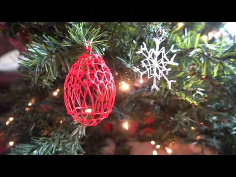 Simple 3Doodler Ornament Tutorial