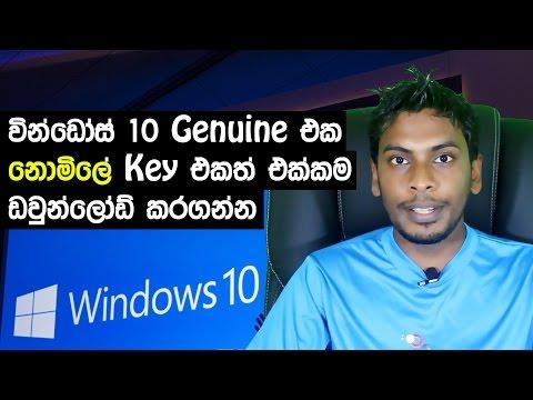 සිංහල Geek show - How to get download update genuine windows 10 free | dreamspark and more