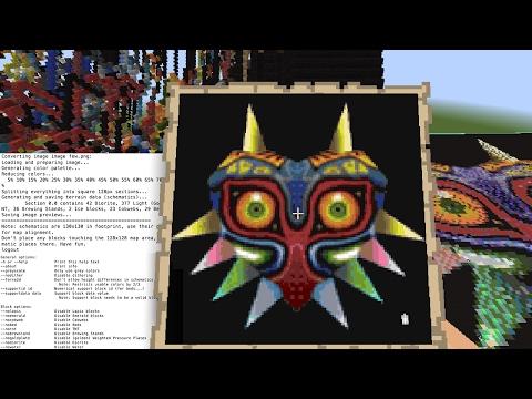 Minecraft Map Art - Survival Tutorial - Mac & PC