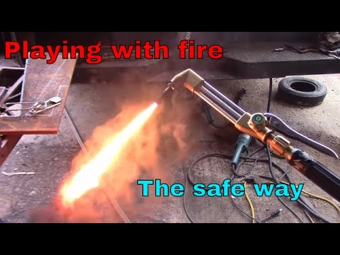 Acetylene torch basics