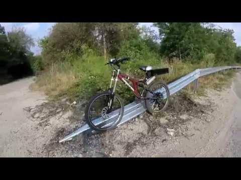 E-bike 3700w 72v riding in the city