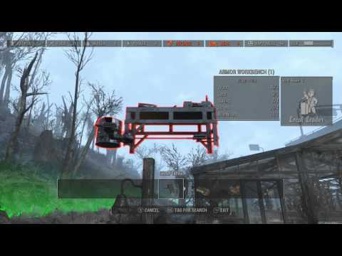 Fallout 4 Easy Adhesive Glue Gray Garden Glue Factory How To + bomber jacket