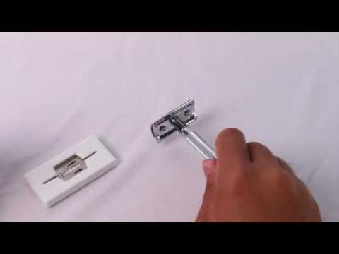 How to change blades for a Merkur 33C Safety Razor