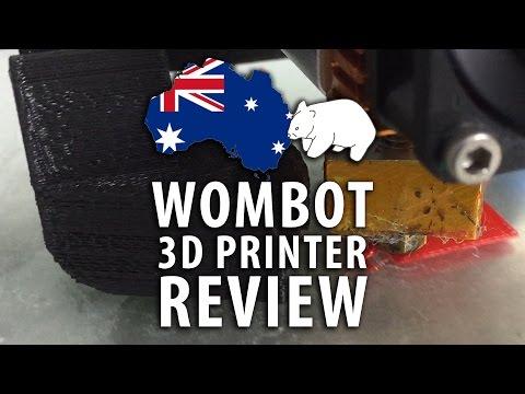 3D Printing: Wombot Exilis 3D Printer Review