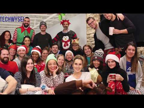 Christmas at TechWyse - Holiday #MannequinChallenge