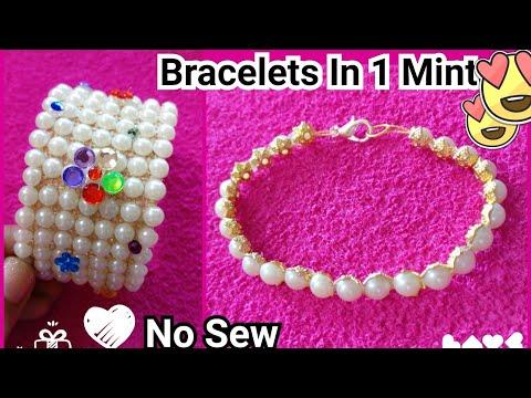 Bracelets From Sticker In One Mint | No Sew || DIY Bracelets