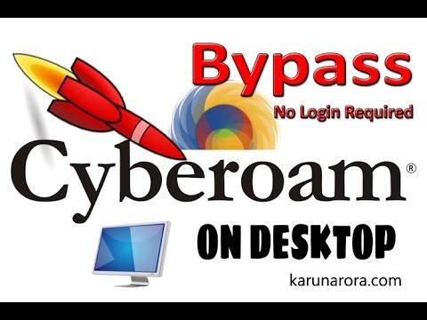 How to bypass cyberoam