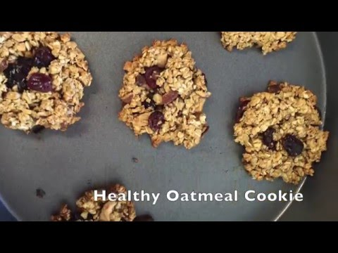 Oatmeal Cookie: no butter