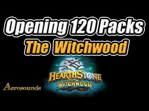 Opening 120 Witchwood Packs - Latest Hearthstone Expansion