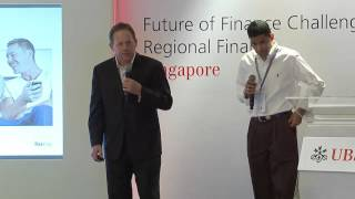 SayPay Technologies Winning Pitch at UBS Regional Finals in Singapore