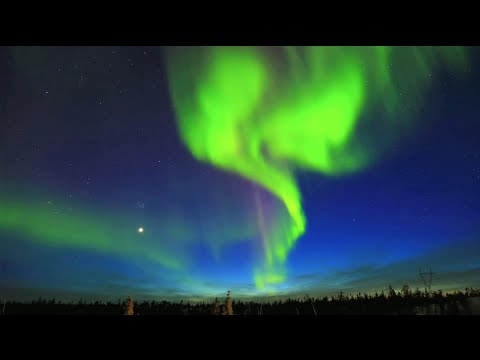 Northern Lights (Aurora) - Yellowknife, NWT, Canada - April 9, 2015
