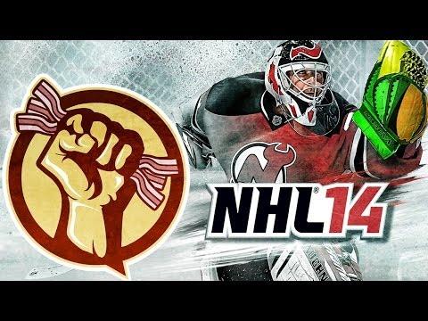 Goalie FAILS   (NHL 14 Clips)