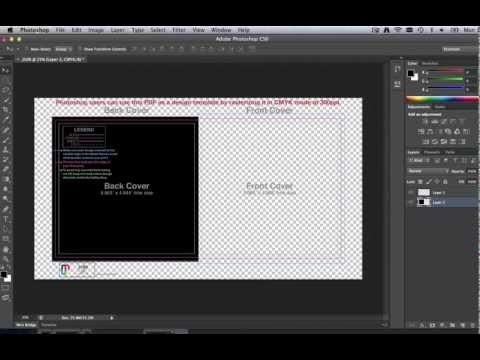 How To Use CD Templates In Adobe Photoshop