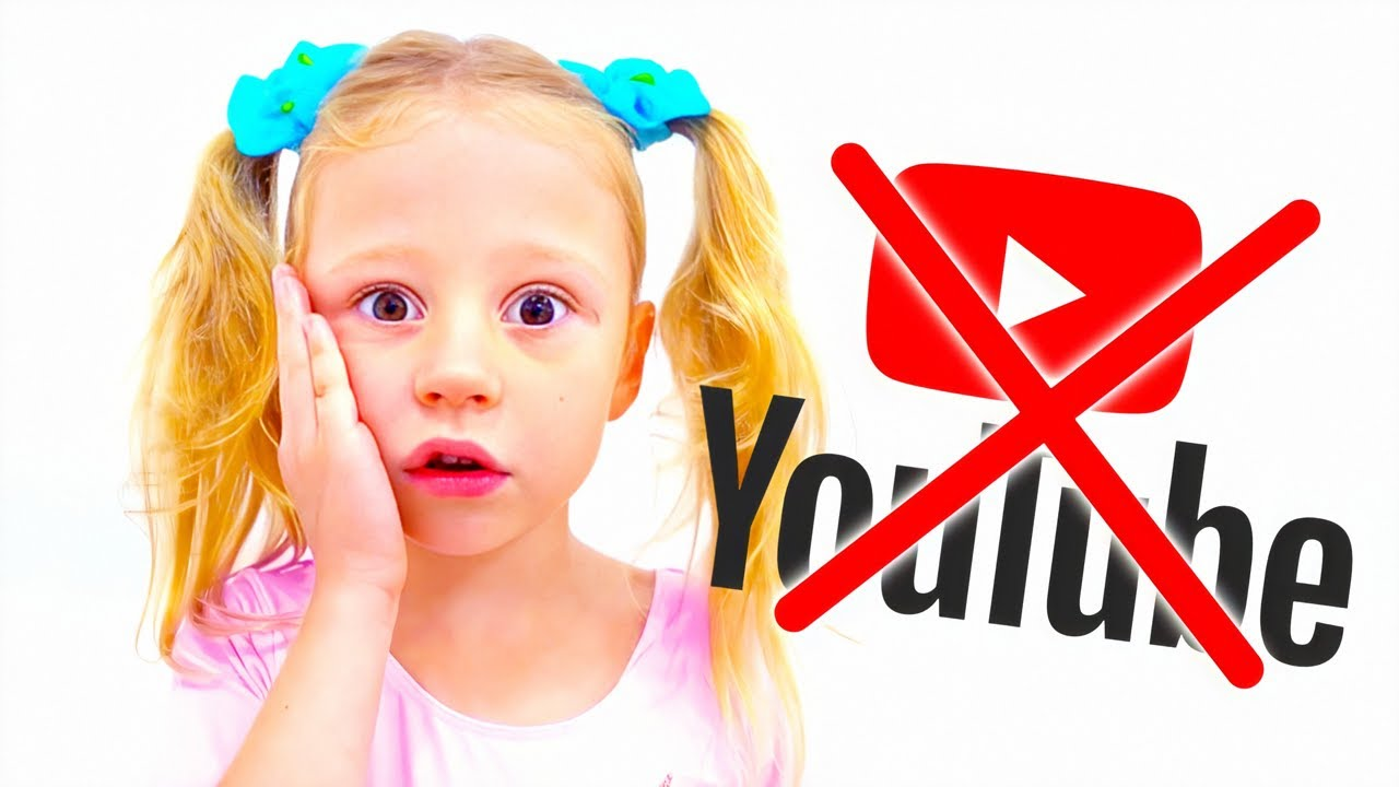 Nastya et papa, que se passe-t-il si la chaîne YouTube Kids disparaît
