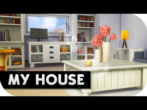 THE SIMS 4 // PARENTHOOD | FURNISHING MY REAL LIFE HOUSE!