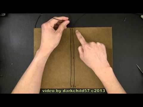 DIY: Refillable leather journal cover with elastic tie