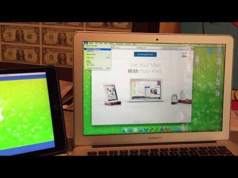 Duet Display Download, Install, Setup (Mac and iPad)