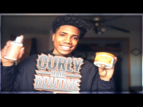 Men's Curly Hair Routine (Get Long Lasting Curls Fast)