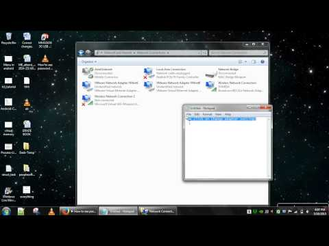 How to disable a Local area network on windows