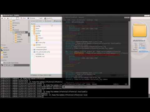 Zend Framework 2.1 tutorial 1: Skeleton App