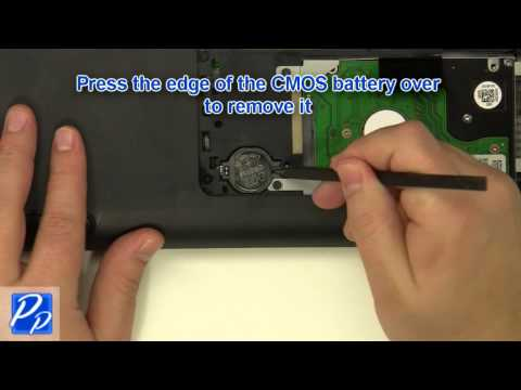 Dell Inspiron 14Z N411z CMOS Battery Replacement Video Tutorial