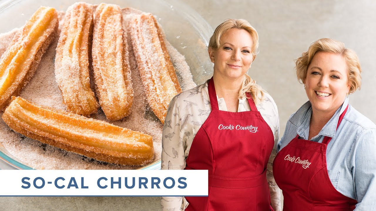 How to Make Churros with Chocolate Dipping Sauce at Home