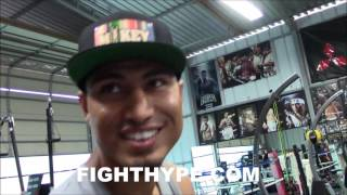 MIKEY GARCIA SAYS MALIGNAGGI NOT HONEST ABOUT MCGREGOR SPARRING; INSISTS NO CHANCE VS. MAYWEATHER