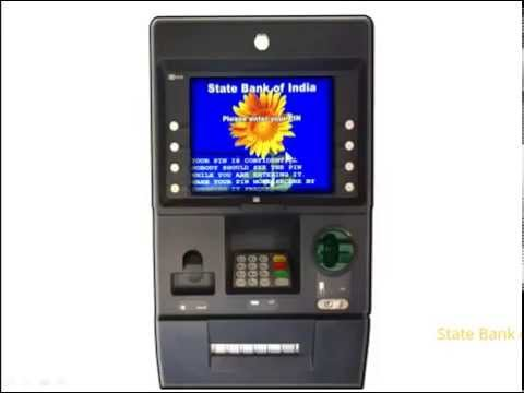 SBI ATM: Cash withdrawal through Automated Teller Machine. (Created as on May 2015)