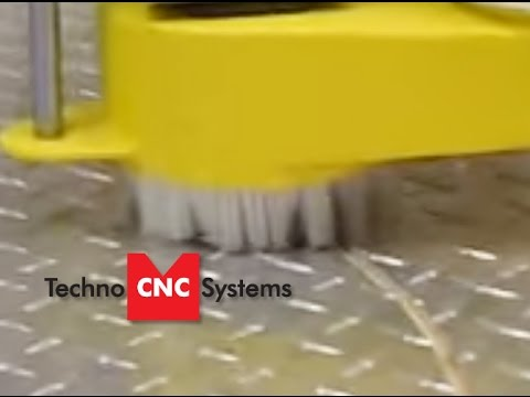 Aluminum Sheet Processing is made easy on the HD CNC Router- Aluminum diamond plate video