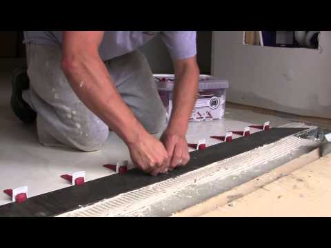 How to install Large Format Tiles 6mm-1.2m-3m (1/4''x39