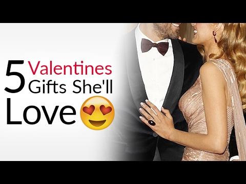 5 Valentine's Day Gifts That Get You Lucky! | Gift Ideas She'll LOVE