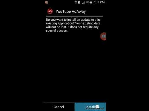 Tutorial-Block ads on youtube app on android