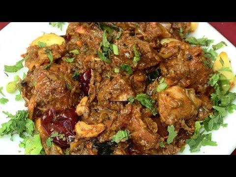 Garlic chicken recipe in malayalam| Garlic chicken Indian style