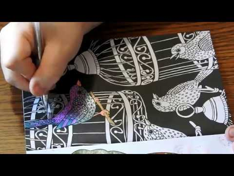 Coloring: Birds with Cages