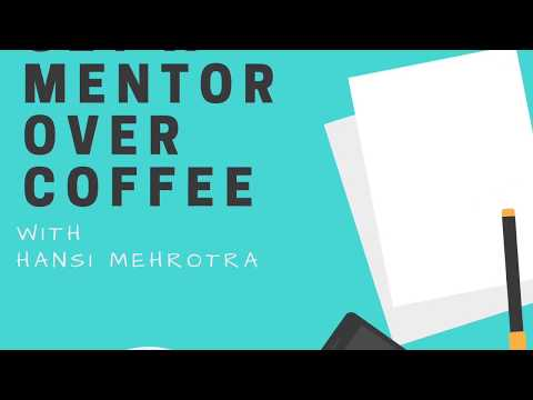 How to get a coffee meeting with a mentor