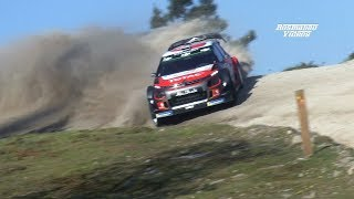 "WRC Rally Portugal 2018 ""Dust"" & Flat Out (Pure Sound) Full HD"