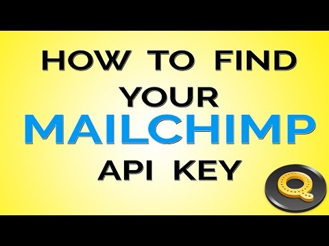 How to Find Your Mailchimp API